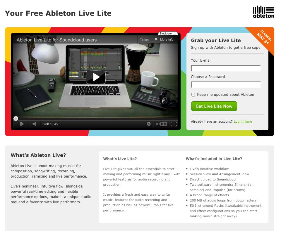 muzaq ableton live 8 3 released live lite 8 3 free for soundcloud members nc mpl t n z. Black Bedroom Furniture Sets. Home Design Ideas