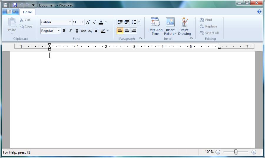 Microsoft Office Wordpad